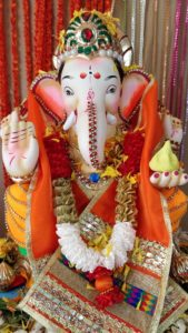 Eco-Ganapati - embellishment of idol